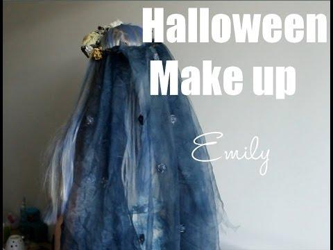 [TUTO] Halloween Make up : Emily ( Les noces funèbres )