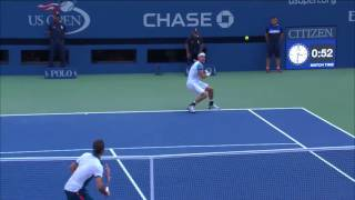 Roger Federer has a knack out for closing out big points with an exclamation. Check out how he handled a set point against...