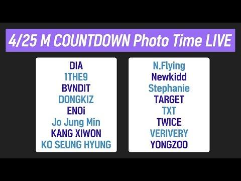 190425 M COUNTDOWN Photo Time Live! - Thời lượng: 41 phút.