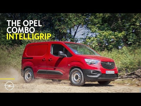 Opel Combo: Extra traction and stability with IntelliGrip
