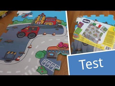 Test: Chicco Puzzlematte City   babyartikel.de