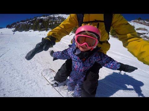 Grei måte å få barna til fjells!