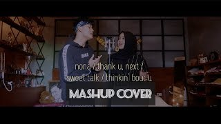 Download Lagu MASHUP COVER W/ RIZKY FEBIAN (nona / thank u, next / sweet talk / thinkin' bout you) Mp3