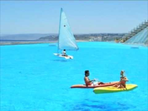 Worlds Biggest Swimming Pool with facts