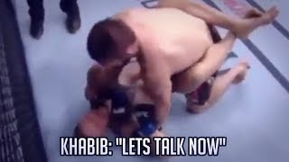 Video WHAT KHABIB ACTUALLY SAID TO CONOR IN THE FIGHT REVEALED MP3, 3GP, MP4, WEBM, AVI, FLV Oktober 2018