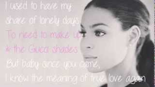 Jordin Sparks - Mirror lyrics (French translation). | The very second I laid eyes on you,