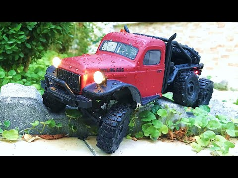 Mini 6X6 RC Crawler Off Road Session - World\'s ONLY 6 Wheel Drive 1/18 Scale Rock Crawler