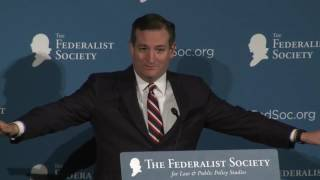 Click to play: Address by Senator Ted Cruz - Audio/Video