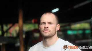 Chris Moir At Tiger Muay Thai And MMA Training Camp Phuket Thailand