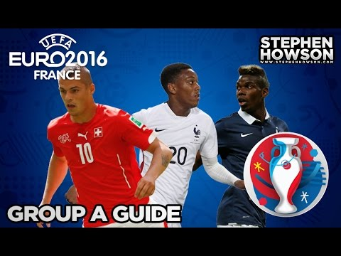 Group A; France, Romania, Switzerland & Albania | Euro 2016 Guide