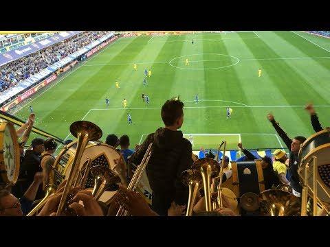 La azul y oro es mi pasión la llevo en el corazón - Boca Godoy Cruz 2017 - La 12 - Boca Juniors