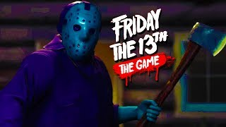 Friday the 13th Game Gameplay!**My second channel** https://www.youtube.com/user/KYRSP33DYDeluxe's Channel: http://www.youtube.com/user/TheDeluxe4Jahova's Channel: http://www.youtube.com/user/jahovaswitnissNobody Epic's Channel: http://www.youtube.com/user/NobodyEpicG18's Channel: http://www.youtube.com/user/G18SprayandPraySidearms' Channel: http://www.youtube.com/user/SideArms4ReasonShadow's Channel: http://www.youtube.com/user/ShadowBeatzIncDeluxe 20's Channel: http://www.youtube.com/user/Deluxe2OLike the video if you enjoyed!  Thanks!My Twitter - https://twitter.com/KYR_SP33DYKYR SP33DYspeedyw03