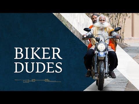 Biker Dudes - Sadhguru & Baba Ramdev
