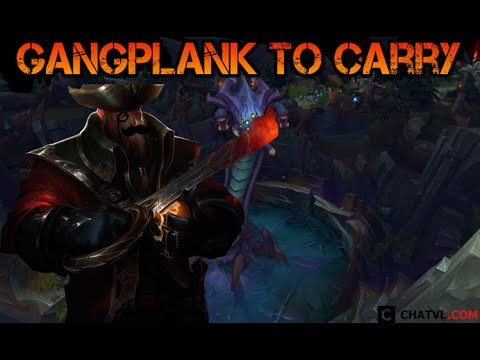 Best build Gangplank to carry your team