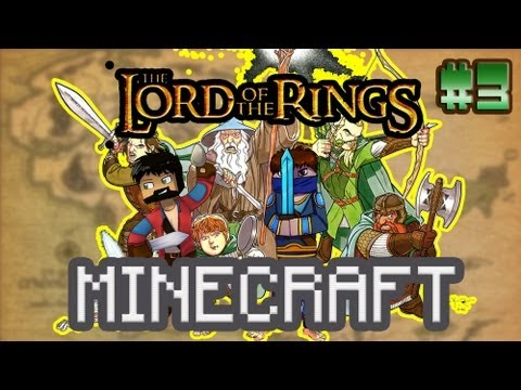 Minecraft - The Lord of the Rings #3 - ПЕЩЕРНЫЕ СТАЛАГМИТЫ