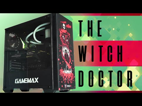 Fierce PC Witch Doctor Gaming PC - Affordable and Super Stylish!