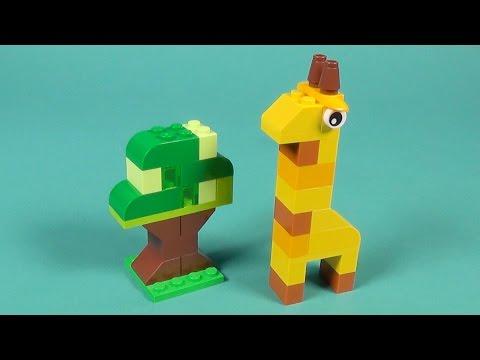 Vidéo LEGO Classic 10695 : La boîte de construction créative LEGO
