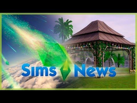 Sims News -  Скрытые сцены трейлера, мартовский набор, трансляция