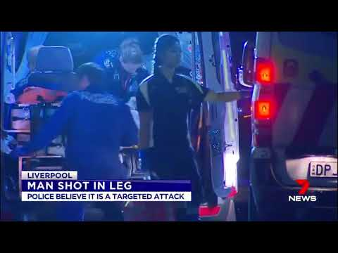 Man Shot - Liverpool, Sydney (2017)