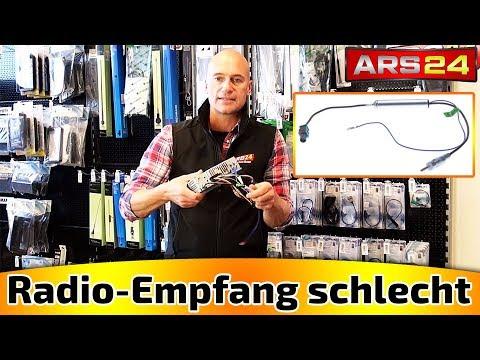 Schlechter Radio-Empfang im Auto?  Phantomadapter bewirken Wunder!