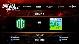 OG vs 4Clovers, game 2