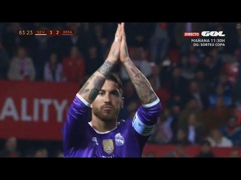 Sevilla vs Real Madrid - Extended Highlights 15/01/17