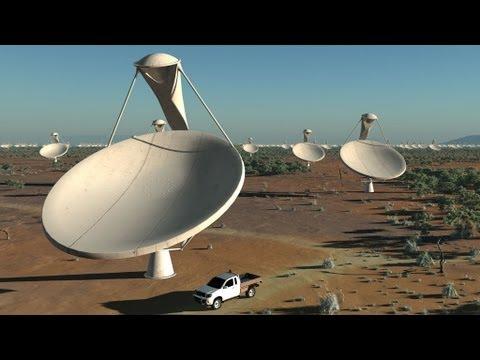 Wo kann ein riesiges Teleskop gebaut werden?