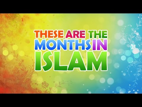 Nasheed - Months In Islam With Zaky