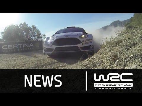 Vídeo resumen tramos 1 al 5 WRC Rally RACC Cataluña España 2015