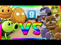 PLANTS VS ANIMATRONICS | Gmod Sandbox (Plants vs Zombies, Five Nights at Freddy's)