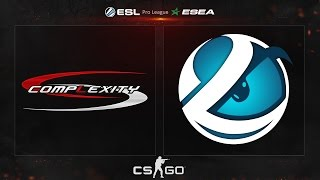 CS:GO - compLexity vs. Luminosity [Overpass] - ESL ESEA Pro League Season 2 - Week 3, Day 2
