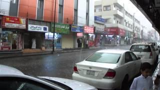 Khamis Mushayt Saudi Arabia  City new picture : rain over Khamis Mushayt City of Saudi Arabia