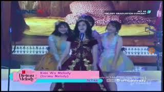 Video JKT48 |Kimi Wa Melody| - Melody Graduation Concert MP3, 3GP, MP4, WEBM, AVI, FLV Agustus 2018