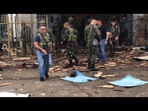 Philippinen: Mindestens 20 Tote bei Bombenexplosion in katholischer Kirche