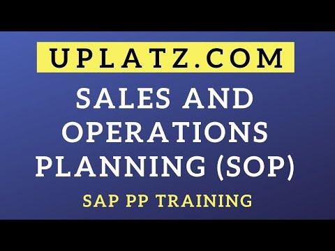 SAP PP | Sales and Operation Planning (SOP) | uplatz.com
