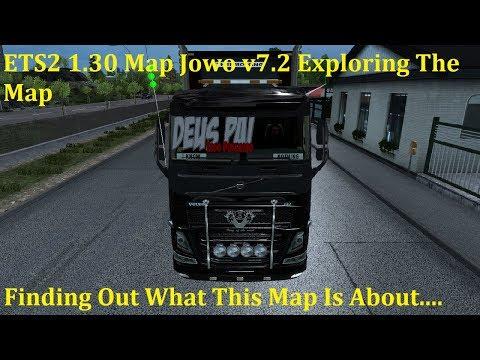 Map Jowo v7.2 (Indonesian Map for ETS2 v1.30)