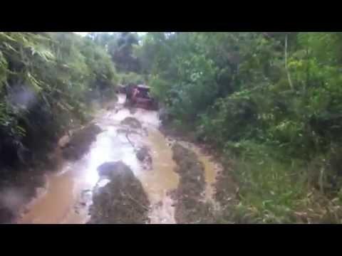 Paranapiacaba trilha até a porteira em Taquarussu