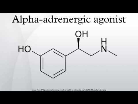 Alpha-adrenergic agonist