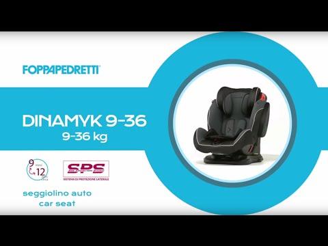 Foppapedretti: caratteristiche seggiolino auto Dinamyk 9-36