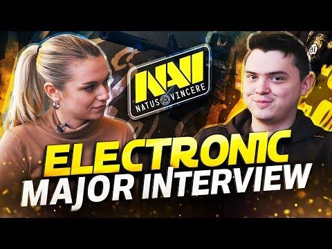 Electronic Interview IEM Katowice Major 2019