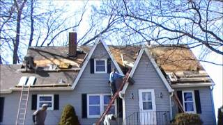 Roofing time lapse