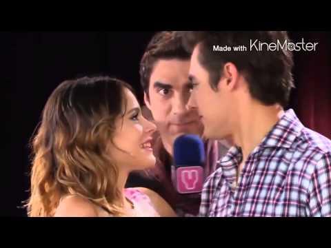 Виолетта - поцелуи Леона и Виолетты (видео)