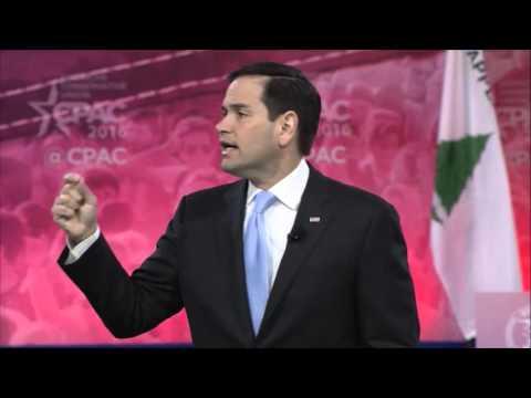 Marco Rubio speech at CPAC 2016