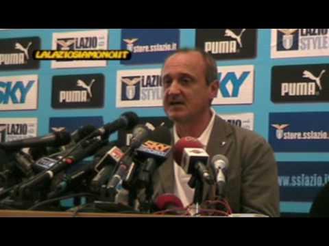 Despedida de Delio Rossi del club Lazio