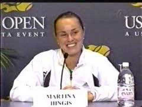 1999 Martina Hingis vs. Serena Williams - War of Words