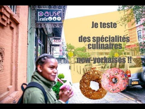 0 J'ai testé des spécialités new-yorkaises durant un food tour en français !