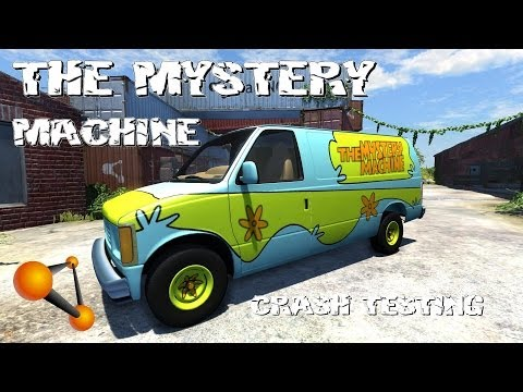 beamng drive alpha the mystery machine crash testing 63. Black Bedroom Furniture Sets. Home Design Ideas