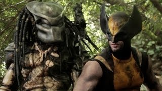 WOLVERINE vs PREDATOR - Super Power Beat Down (Episode 9) - YouTube