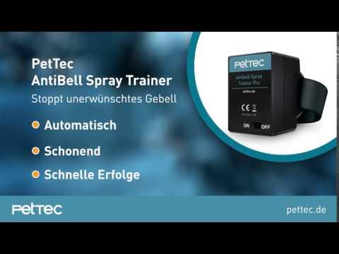 Erziehungshalsband mit Spray – Antibell Spray Trainer von Pettec