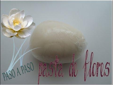 pasta de goma - Pasta de goma casera para flores. Más tutoriales en: https://www.facebook.com/sa... Espero que te guste el video, ponle